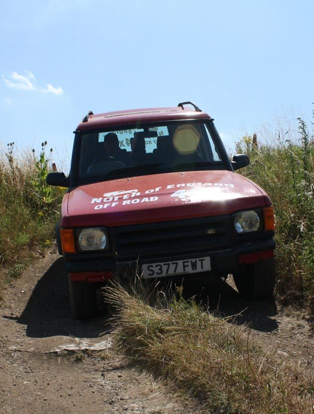 4x4 at North of England Activity Centre
