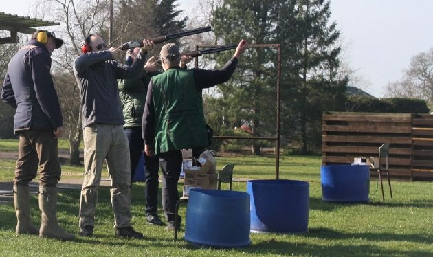Clay Pigeon Shooting North of England Activity Centre