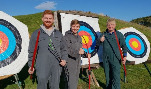 Archery at North of England Activity Centre