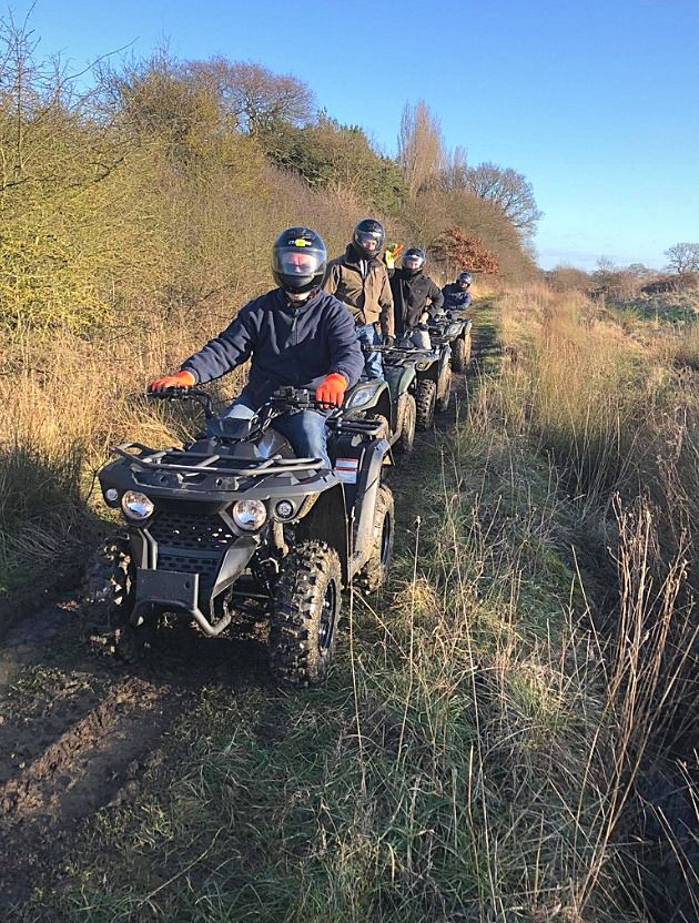 Quad Biking at North of England Activity Centre