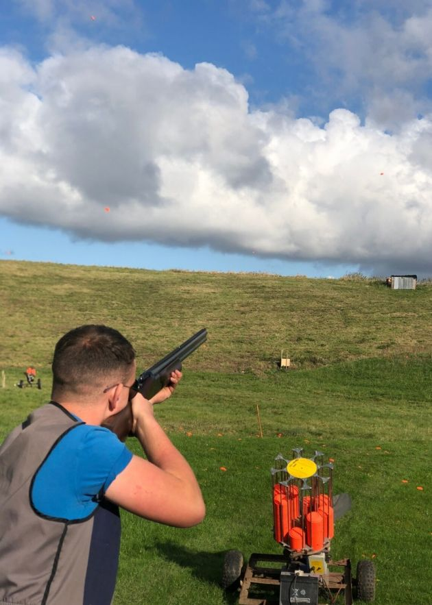 Clay Shooting at North of England Activity Centre
