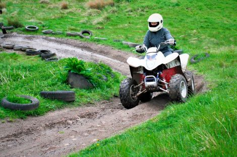 Quad Bikes at North of England Activity Centre