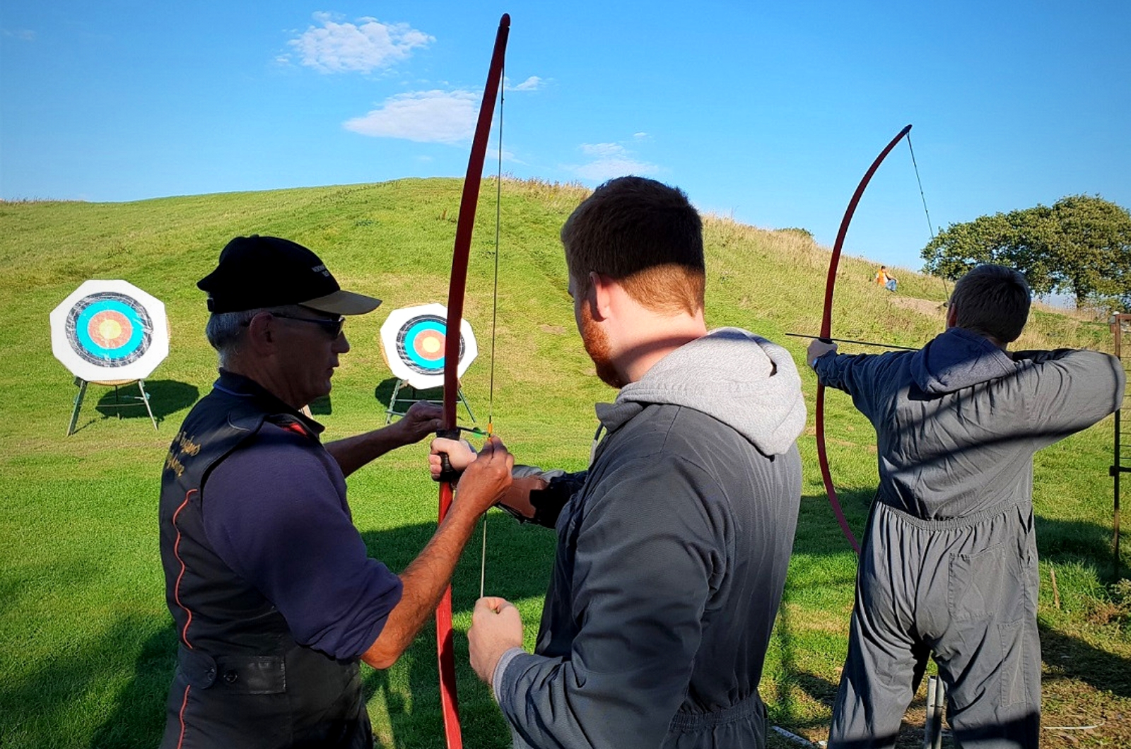 Expert Archery Guidance at the North of England Activity Centre