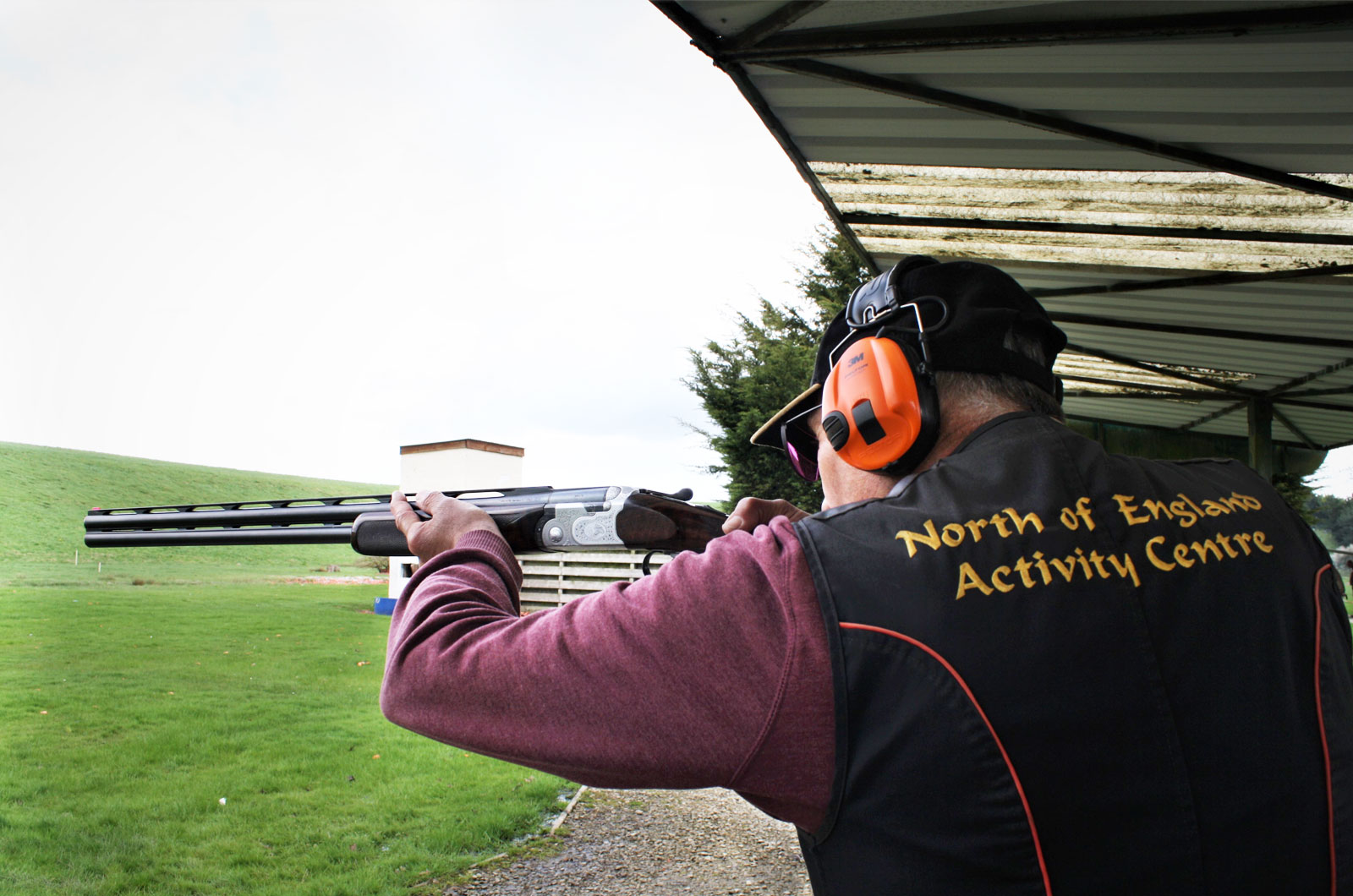 Clay Pigeon Shooting at North of England Activity Centre